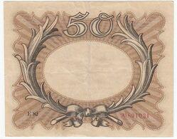 ALLEMAGNE Billet De 50 Funfzig Mark - Berlin Novembre 1918 - 50 Mark