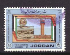 Jordanie / Jordan 1226 Used (1983) - Jordania