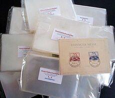 Ansichtskartenhüllen Nr.2 Für Neue AK 110 X 155 Mm 1000 Stück Glasklar & Weichmacherfrei - Supplies And Equipment