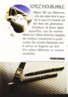 "PUB MONTRES Et STYLO  "" "" WATERMAN  "" 1980 ( 1 ) - Juwelen & Horloges"