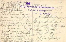 PHILATELIE / MARCOPHILIE / OBLITERATION Détachement D'Artillerie N°13 / GUERRE 1914/1918 / CPA FRANCE 78 Vesoul - WO1
