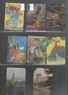 СТЕРЕО Карманный календарь-4  1983-85-ВАШ ВЫБОР СЛЕВА НАПРАВО ЦЕНА ЗА 1 ШТУКУ - Kalender