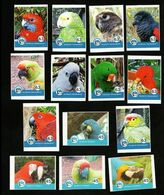 BRD - Privatpost - Nordkurier - Vögel Birds - 14 W Papageien Birds  Perroquet Parrot - Ara - Papegaaien, Parkieten