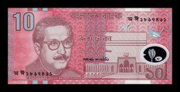 Bangladesh 10 Taka 2000 Pick 35 Polymer SC UNC - Bangladesh