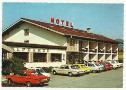 Mondsee Motel Alpenhof,old Car Mercedes Fiat Opel - PKW