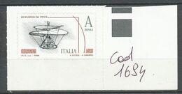 ITALIE - 2015 - Leonard De Vinci - MNH - 2011-...: Mint/hinged