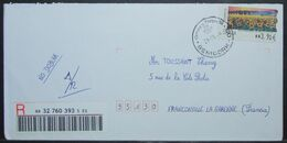 Spain - Registered ATM Cover To France 2006 Benidorm - 1931-Aujourd'hui: II. République - ....Juan Carlos I