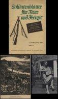 WW II Heft ,Soldatenblätter Für Die Freizeit 1944 ,60 Seiten ,Versand Im Großbrief. - Germany