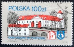 Polska - Poland - P2/48 - (°)used - 1989 - Michel Nr. 3805 - Polonia Huis - Pultusk - Used Stamps
