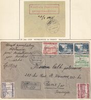 Poland 1938 Currency Control Handstamp Om Cover - Briefe U. Dokumente