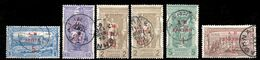 Greece 1901 First Olympics AM Overprints Complete Set Used - Gebraucht