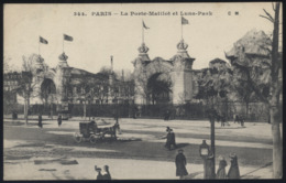 CPA - (75) Paris - La Porte Maillot Et Luna Park - Zonder Classificatie