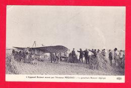 Aviation-596A109 Appareil BLERIOT, Monté Par L'aviateur PEGOUD, Le Parachute Bonnet Déployé, Cpa - ....-1914: Precursors