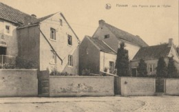 HOUSSE-JOLIS PIGNONS PLACE DE L'EGLISE. - Blégny