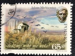 Polska - Poland - P2/48 - (°)used - 1998 - Michel Nr. 3738 - 200e Geboortedag Adam Mickiewicz - 1944-.... Republic
