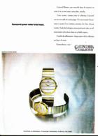"PUB MONTRES "" "" CONCORD "" 1982 ( 1 ) - Juwelen & Horloges"