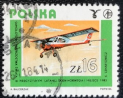 Polska - Poland - P2/49 - (°)used - 1984 - Michel Nr. 2943 - Poolse Luchtvaartgeschiedenis - Used Stamps