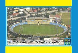 CARTE DE STADE . KOSICE   SLOVAQUIE  STADION  LOKOMOTIVA   #  DM. 035 - Soccer