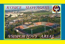 CARTE DE STADE . KOSICE   SLOVAQUIE  VSESPORTOVY  AREAL   #  DM. 033 - Soccer