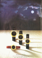"PUB MONTRES "" "" BULGARI "" 1985 ( 1 ) - Juwelen & Horloges"