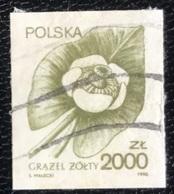 Polska - Poland - P2/49 - (°)used - 1990 - Michel Nr. 3277 - Gele Plomp - Used Stamps