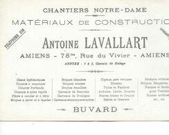 "Buvard Antoine LAVALLARD ""Chantiers Notre-Dame"" - Amiens. - Blotters"