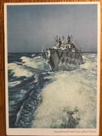 III. Reich, Propaganda  Karte, Ungarisch, Schiff, - Weltkrieg 1939-45