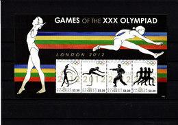 Olympics 2012 - Gymnastics - ANTIGUA & BARBUDA - S/S MNH - Summer 2012: London