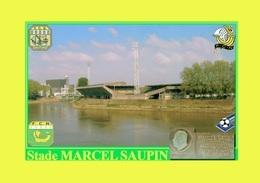 CARTE DE STADE DE. NANTES *44*  FRANCE    STADE MARCEL SAUPIN    # CS. 439 - Calcio