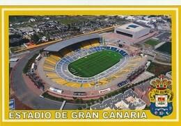 Carte De Stades De: LAS PALMAS DE GRAND CANARIA    ESPAGNE   ESTADIO DE GRAN CANARIA    #  CS. 138 - Soccer