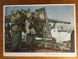 III. Reich, Propaganda  Karte, Ungarisch Geschrieben, Geschütz - Weltkrieg 1939-45