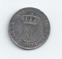 5 SOLDI 1853 MARIE-LOUISE ARGENT - Parma