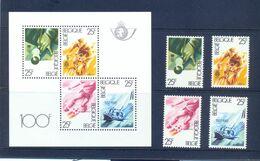 BL58  + 2043/2046 Postgaaf ** MNH Prachtig - Blocks & Sheetlets 1962-....