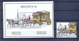 BL59  + 2077 Postgaaf ** MNH Prachtig - Blocks & Sheetlets 1962-....