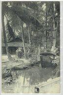COCHINCHINOIS - Thủ Đức - Paysage - Timbre Indochine Francaise - Paquebot Ligne N Paquebot PAU FR N°4 - Vietnam