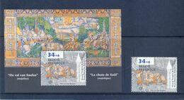 BL71  + Nr. 2626 Postgaaf ** MNH Prachtig - Blocks & Sheetlets 1962-....