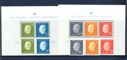 BL50/51  + Nr. 1811/1815 Postgaaf ** MNH Prachtig - Blocks & Sheetlets 1962-....