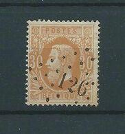 N° 33 OBLITERE LP 126 FLEMALLE - 1869-1883 Léopold II