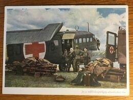 III. Reich, Propaganda  Karte, Ungarisch Geschrieben, Luftwaffe, Ju 52 - Weltkrieg 1939-45