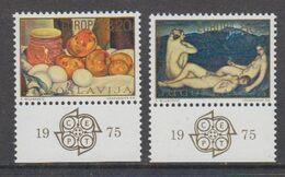 Europa Cept 1975 Yugoslavia  2v (+margin) ** Mnh (49692B) - Europa-CEPT