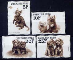 BURKINA  - 1149/1152** - CHIENS ET CHATS - Burkina Faso (1984-...)
