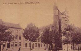 MAASTRICHT - 1909 - O.L. Vrouwe Kerk En Plein - Maastricht