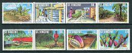 St Vincent 1981 Agriculture Set MNH (SG 660-667) - St.Vincent (1979-...)