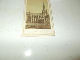 B770 Foto Cartonata Cattedrale Liege Cm10,5x6 - Ohne Zuordnung