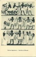 Peinture Egyptienne - Sacrifice Et Offrande - Paintings
