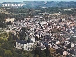 Carte Postale De Treignac En Corrèze, Vue Aérienne - Treignac