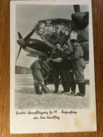 III. Reich, Propaganda  Karte, Luftwaffe, Ge 111 - Weltkrieg 1939-45