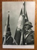 III. Reich, Propaganda  Karte, Fahnen Der Luftwaffe, - Weltkrieg 1939-45