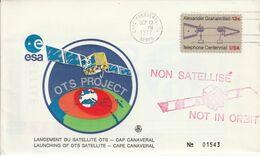 USA ETATS UNIS CAP CANAVERAL LANCEMENT DU SATELLITE OTS 1977 - Noord-Amerika