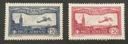 France PA N° 5 ** Et 6 ** MNH Cote 94 €  Prix Dèpart Moins De 10 % - 1927-1959 Ungebraucht